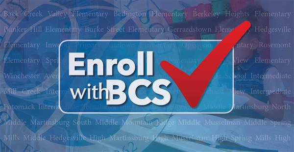enroll with BCS with check mark and BCS logo