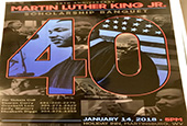 Martin Luther King Jr. Scholarship Banquet January 14, 2018 - 5 p.m. Holiday Inn Martinsburg