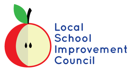 Local School Improvement Council with apple graphic