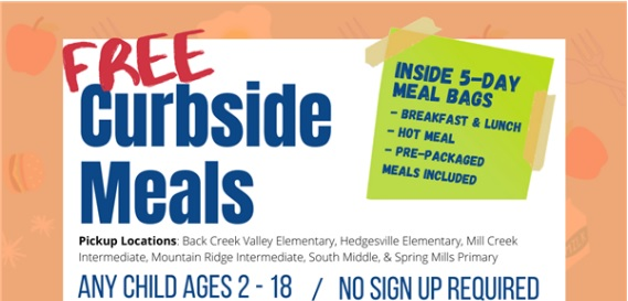 Free Curbside Meal Service