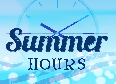 Summer Building Hours & Registration Information