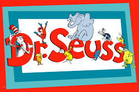 Words Dr. Seuss with Dr. Seuss Book Characters