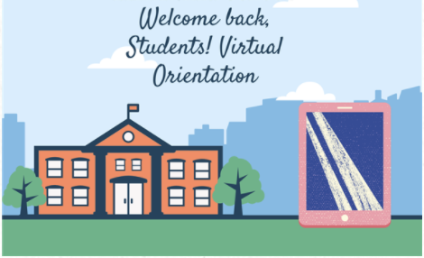 welcome back for virtual orientation