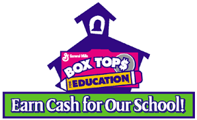 box top for education logo with school house