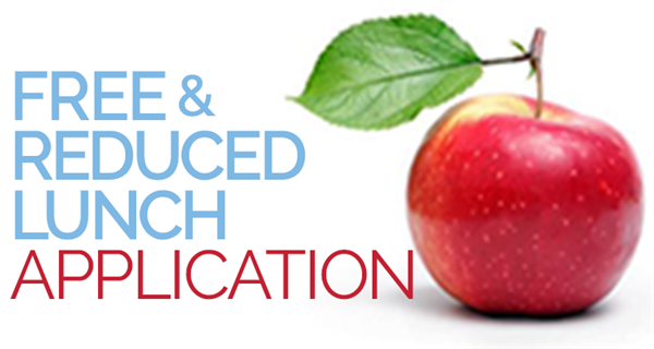 free and reduced school lunch with apple