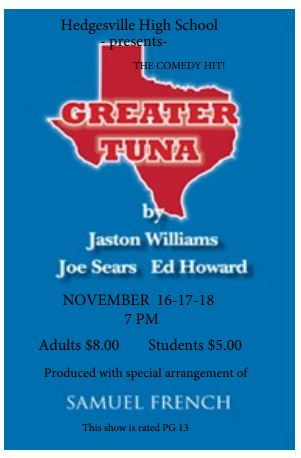 HHS Theatre Presents Greater Tuna
