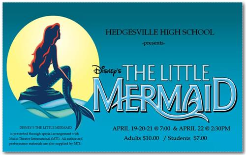 "HHS Theatre Presents ""LITTLE MERMAID"""