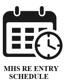 MARTINSBURG HIGH SCHOOL BRICK RE ENTRY SCHEDULE