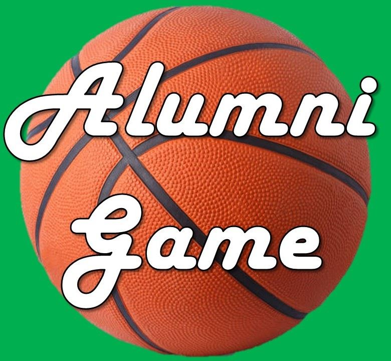 Basketball with Text Alumni Game
