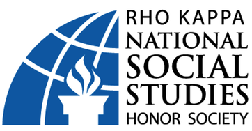 Rho Kappa National Social Studies Honor Society Logo