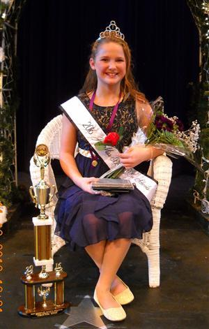 Scholarship Pageant Queen Kaleigh Weatherholtz