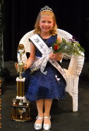 Tiny Miss Pageant Queen Cheyanne Minnick