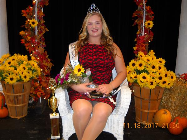 Miss Pageant Queen Emily Rudy