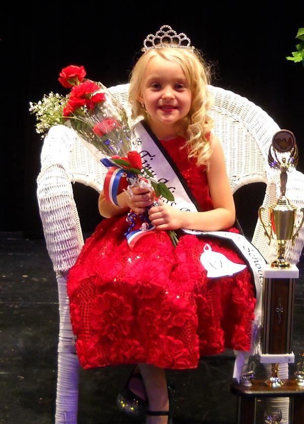 Tiny Miss Pageant Queen Ava Kithcart