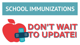 Attention All Current 6th Graders - Immunizations Required