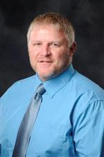 Dr. Ron Branch, principal Mountain Ridge Middle School
