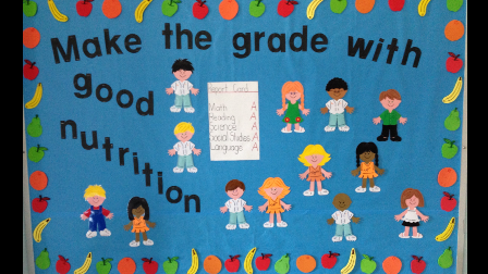 Make the grade with good nutrition