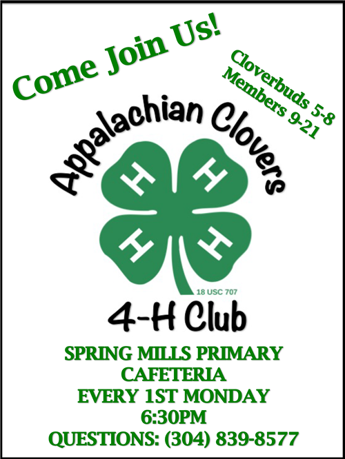 Join 4-H-Spring Mills Middle School