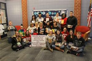 SMHS Library Receives Grant
