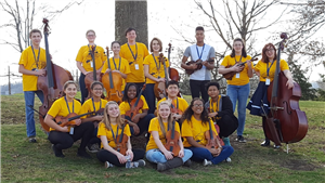 SMHS Orchestra Students