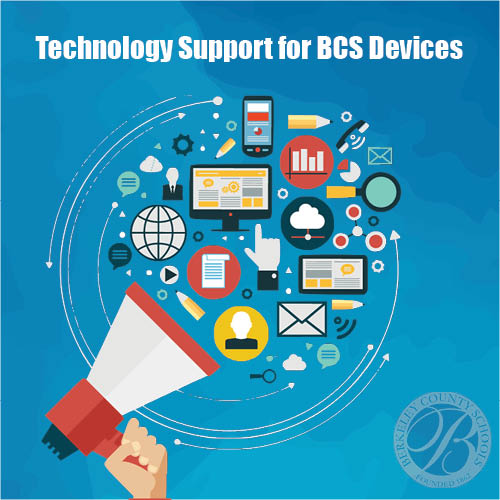 BCS Technology Support Graphic