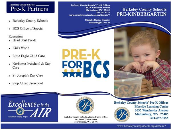 Download the Berkeley County Schools Pre-K Program Brochure