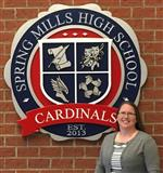 Dr. Carrie Marcum, assistant principal Spring Mills High School