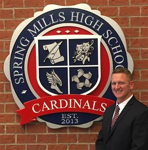 Joshua Sowers, assistant principal Spring Mills High School