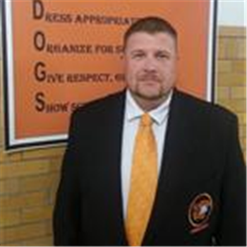 Brian Sine, assistant principal Martinsburg High School