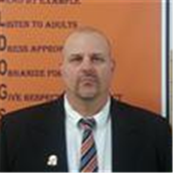 David Walker, assistant principal Martinsburg High