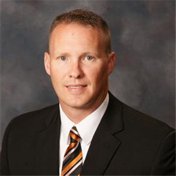 Trent Sherman, principal Martinsburg High School