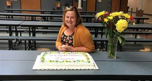 Jessica Salfia, 2016 Teacher of the Year
